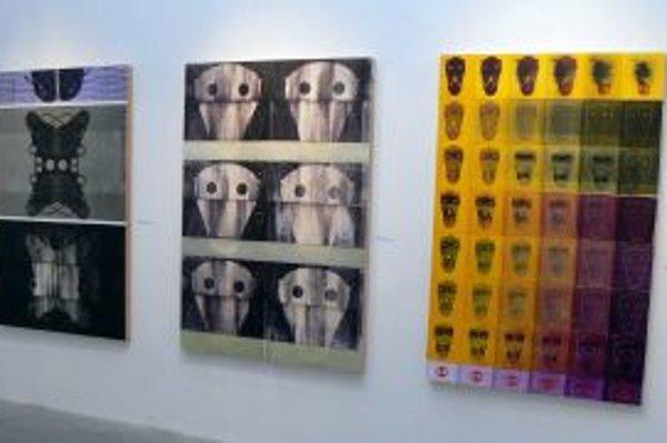 Diela Igora Bencu na výstave 3 (a)LOG v Galerii Zajezdnia Institutu Sztuk Pieknych UMCS v poľskom Lubline.