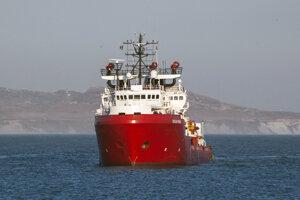 Loď Ocean Viking.
