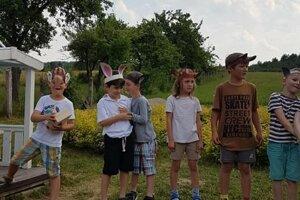 Deti z Kláštora pod Znievom sa lúčili so škôlkou.