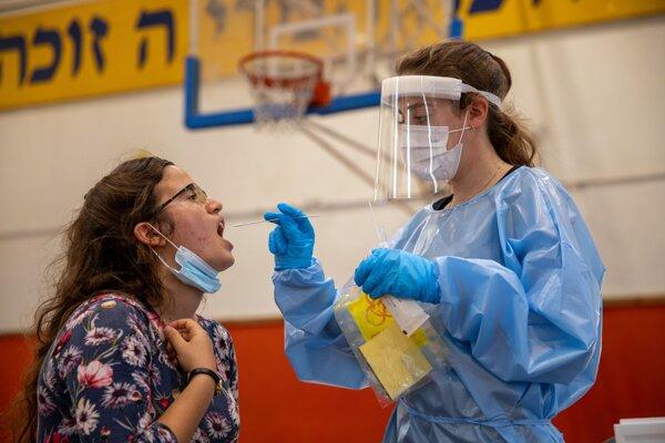 Testovanie na koronavírus v Izraeli.