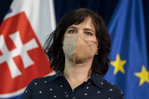 Ministerka investícií, regionálneho rozvoja a informatizácie Veronika Remišová (Za ľudí).