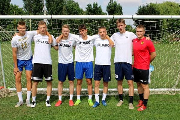 Víťazný tím Kladivárov.