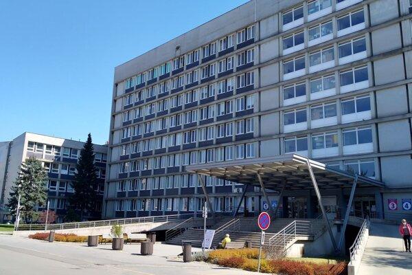 Budova nemocnice na Rastislavovej ulici.