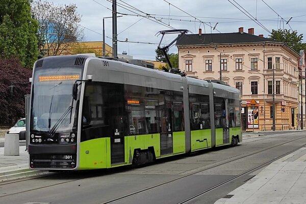 Model Pesa Twist v poľskom meste Gorzów Wielkopolski.