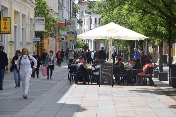 Národná ulica v Žiline.