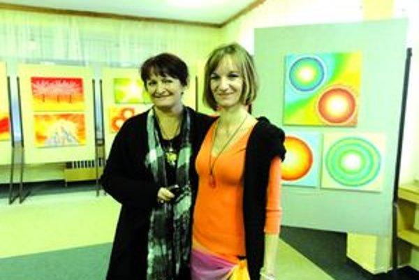 Gabriela Vicenová (vľavo) a Mária Vadkertiová.