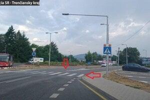 Nebezpečná situácia v Trenčíne