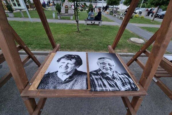 Z rozprávania vznikli aj umelecké portréty.
