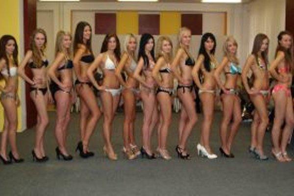 Týchto 13 dievčat sa prebojovalo do finále súťaže krásy Miss Nitra 2012.