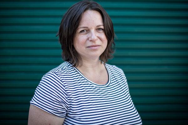 Lucia Szabová, iniciatíva za ochranu klímy a životného prostredia Znepokojené matky.