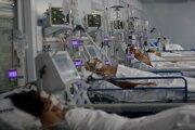 Pacienti v nemocnici.