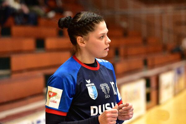 Katarína Pócsíková je dlhoročnou oporou žien Šale.