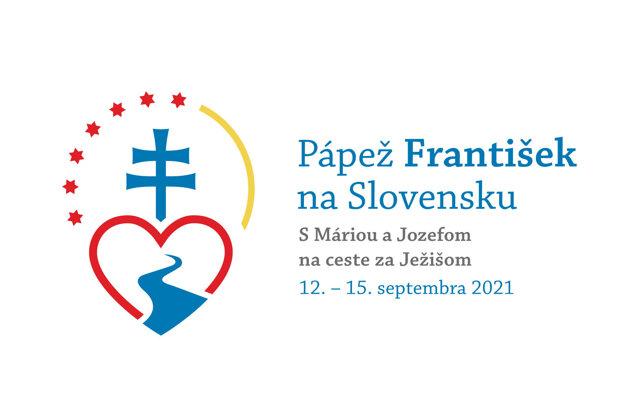 Logo návštevy pápeža Františka  na Slovensku v roku 2021.
