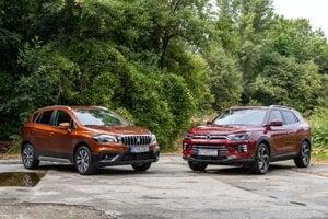 Suzuki S-Cross vs. Ssangyong Korando