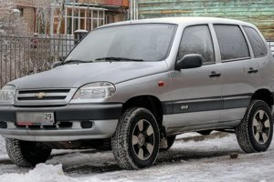 Prvá generácia Chevroletu Niva.