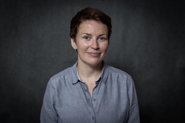 Novinárka Pavla Holcová.