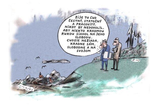 Karikatúra - 26.7.2021.