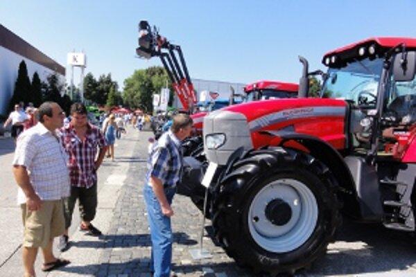 Na Agrokomplexe vystavuje do nedele viac ako 430 firiem.