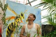 Andrej Dúbravský pripravil slávnosť v botanickej záhrade.