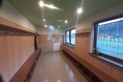 Šatne na štadióne vyzerajú modernejšie.