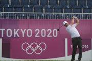 Golfista Rory Sabbatini na LOH Tokio 2020 / 2021.