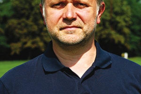 Norbert Csutora je prvý muž futbalu v Šamoríne.