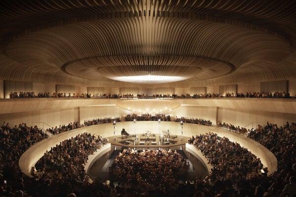 Hlavná sála Nového Istropolisu pojme až 5-tisíc návštevníkov.
