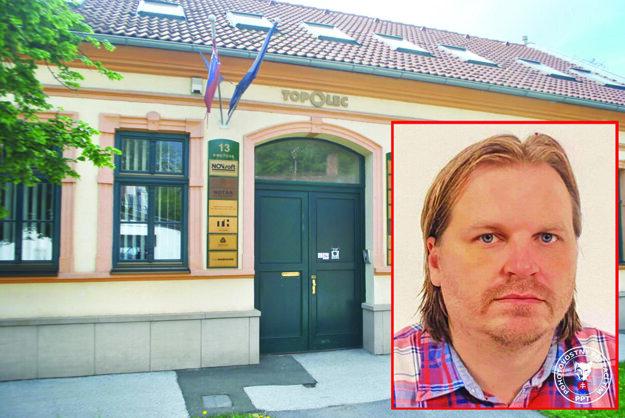 V tomto dome na Kmeťovej ulici sídli notársky úrad Vojtecha Kavečanského.