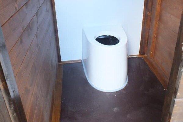 Ekologické toalety v Slovenskom raji.