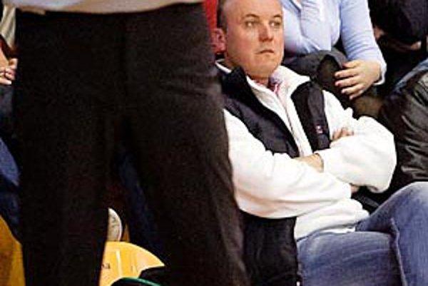Manažér basketbalistov Nitry Juraj Polák.