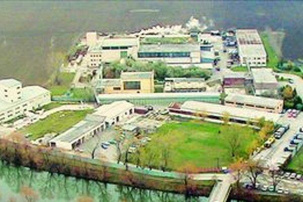 Areál kafilérie v Krškanoch.