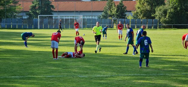 Foto zo zápasu Halič - Lovinobaňa