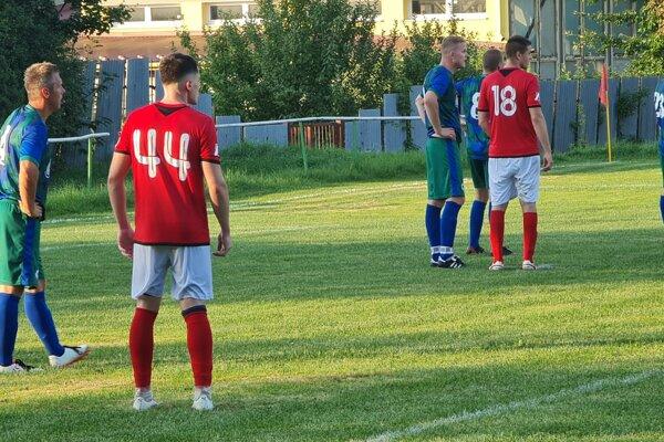 Zo zápasu Halič - Lovinobaňa