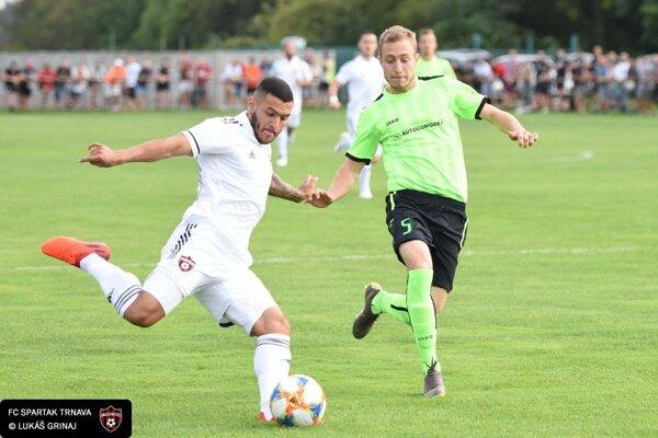 Zvončín minulú sezónu privítal na domácom štadióne v rámci Slovnaft Cupu FC Spartak Trnava