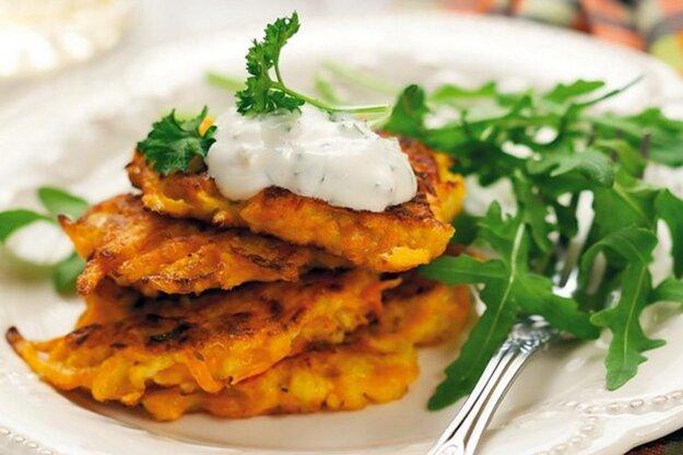 Rýchle zemiakovo-zeleninové placky