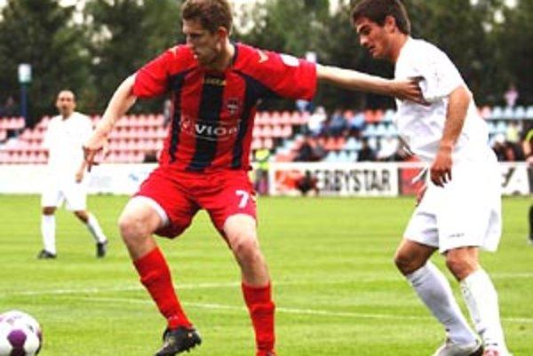 Martin Babic strelil v sobotu do siete Dubnice svoj druhý gól v sezóne.