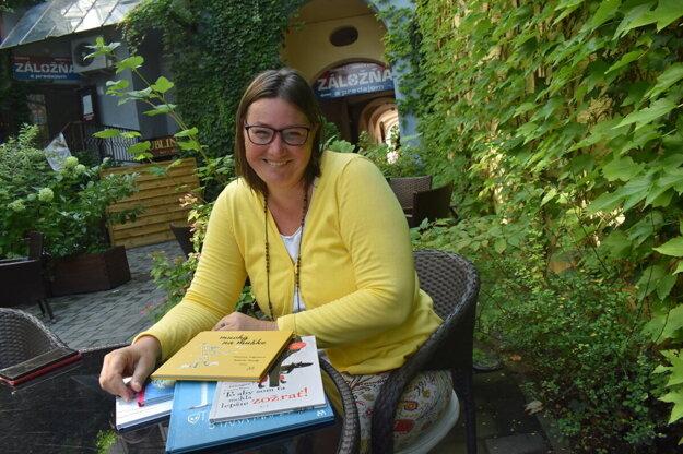 Spisovateľka Miroslava Grajciarová.