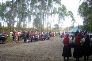 V centre bývalej Lešti sa stretli generácie, ktoré stouto vyľudnenou dedinou spája osud.