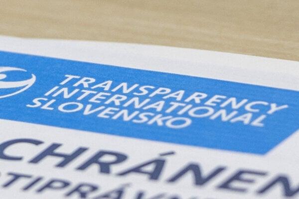 Transparency International Slovensko.