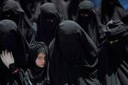 Ilustračné foto. Ženy v nikábe.