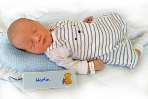 Martin Drozd z Prievidze sa narodil 8. 8. 2021 v Bojniciach