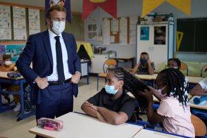 Francúzsky prezident Emanuel Macron.