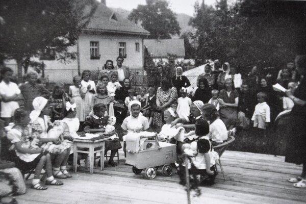 V Oravskom Podzámku za starých čias.