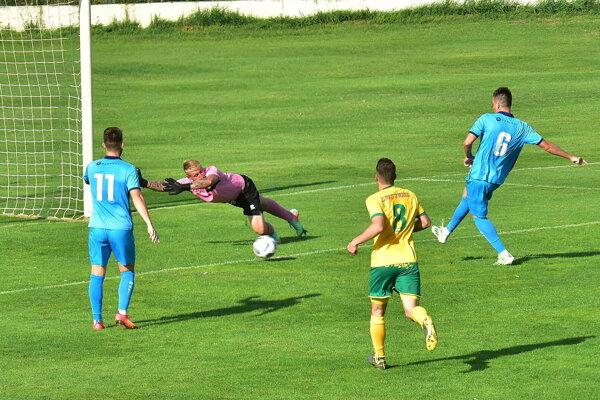 Nový muž v zostave Šaľa Srb Nenad Pavlović prestúpil len deň pred zápasom a v premiére takto zvyšoval na 3:0.