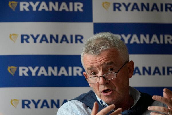 Šéf Ryanairu Michael O'Leary.