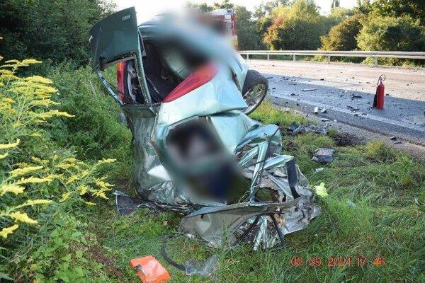 Fiat Punto po nehode.