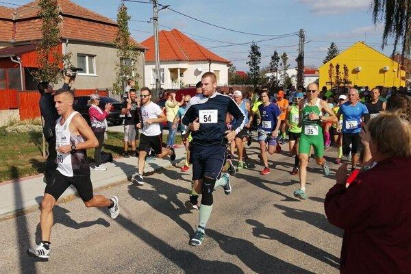 Snímka z Branovského behu v roku 2019.