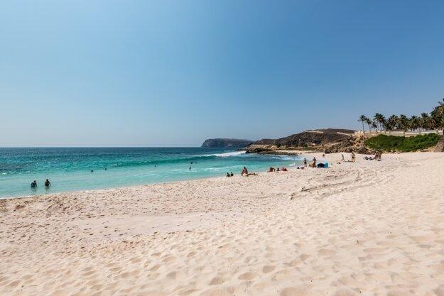 Pláže Ománu