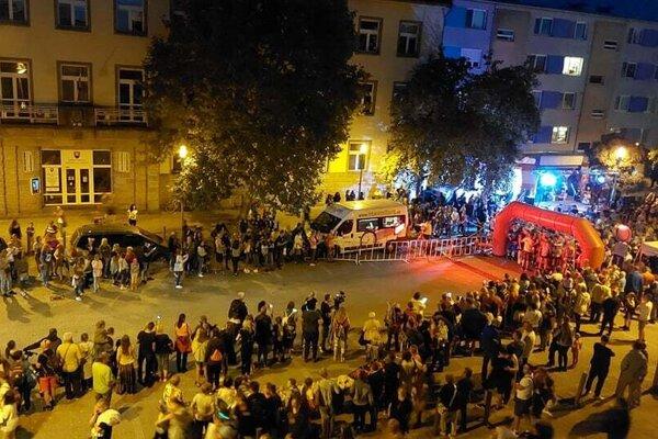 Centrum Šale bolo plné bežcov a ich fanúšikov.