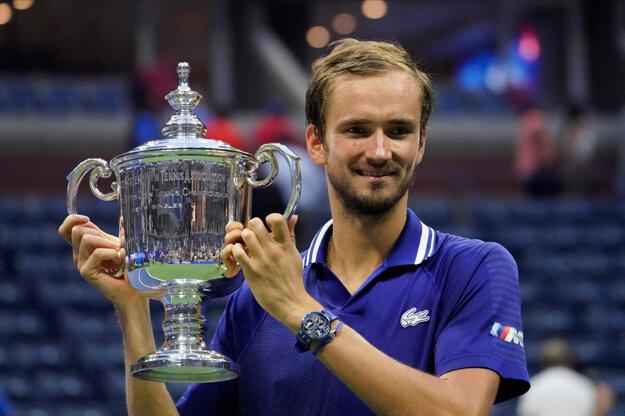 Daniil Medvedev vybojoval na US Open svoj prvý grandslamový titul.